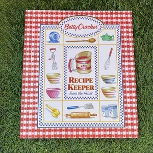 Betty Crocker Recipe Keeper From The Heart Binder